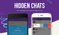 "Viber has launched the ""Secrets Chats"" feature"