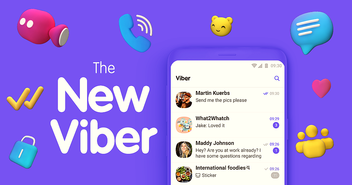 Viber Messenger Reinvents its Design & Introduces Group Calling in 2019