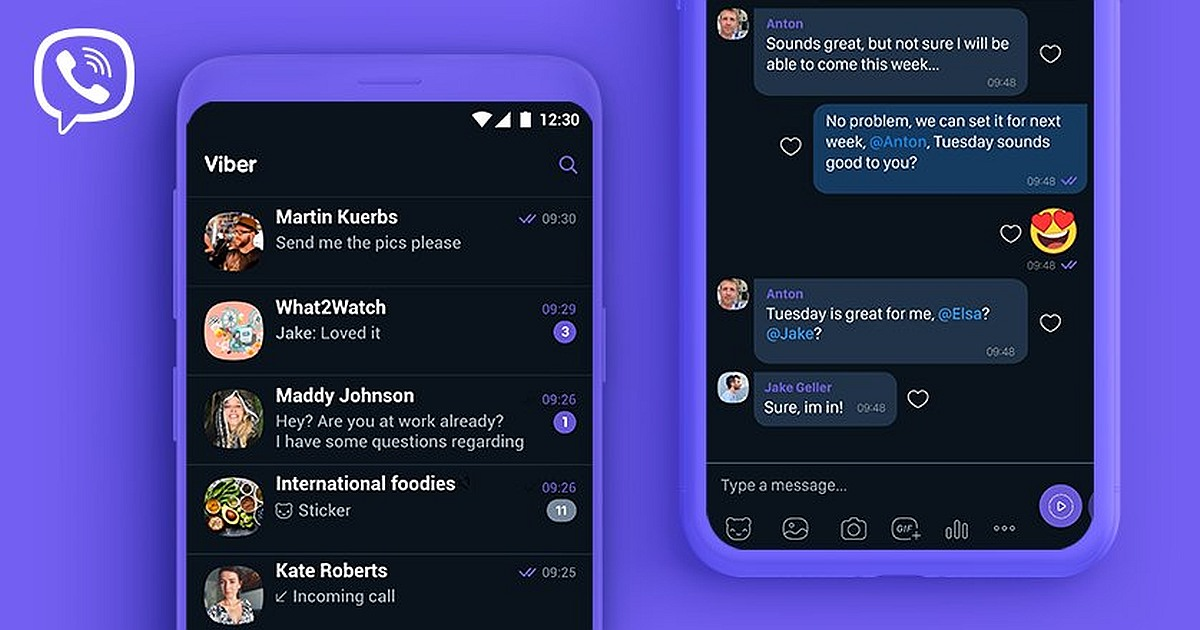 Viber Messenger Unveils the Dark Mode for Android